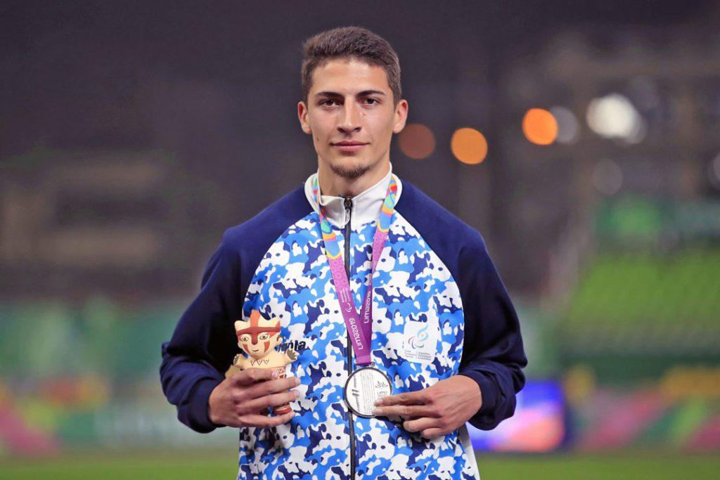Atletismo paralímpico: Brian Impellizzeri, número uno del mundo