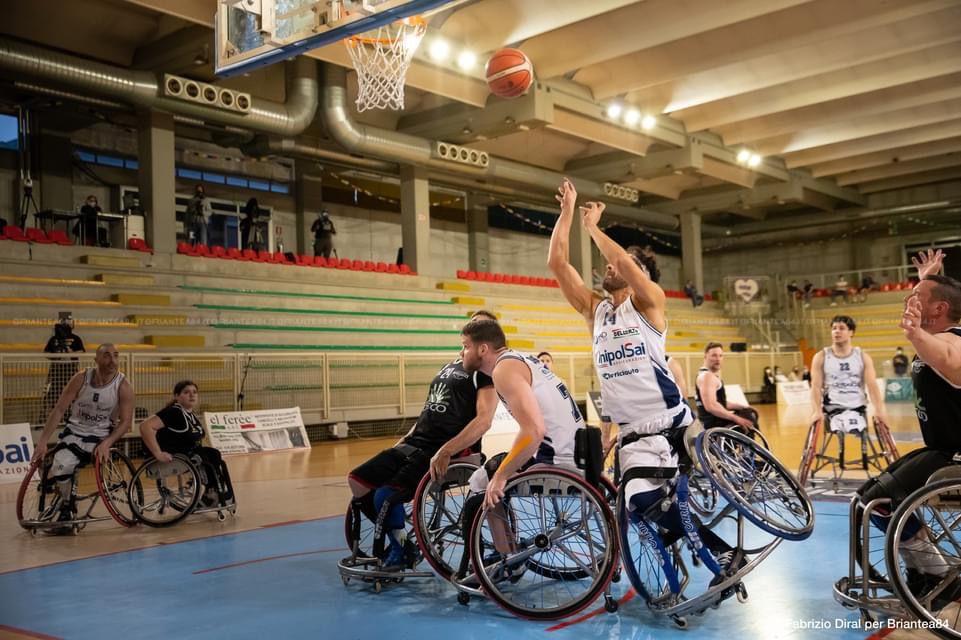 Básquet en silla de ruedas: el Briantea de Esteche y Berdún llegó a la final en Italia