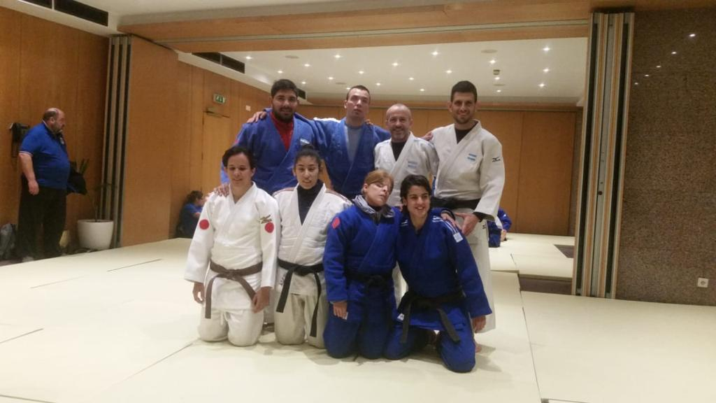 Judo paralímpico: el seleccionado argentino trabaja con el objetivo de meterse en Tokio
