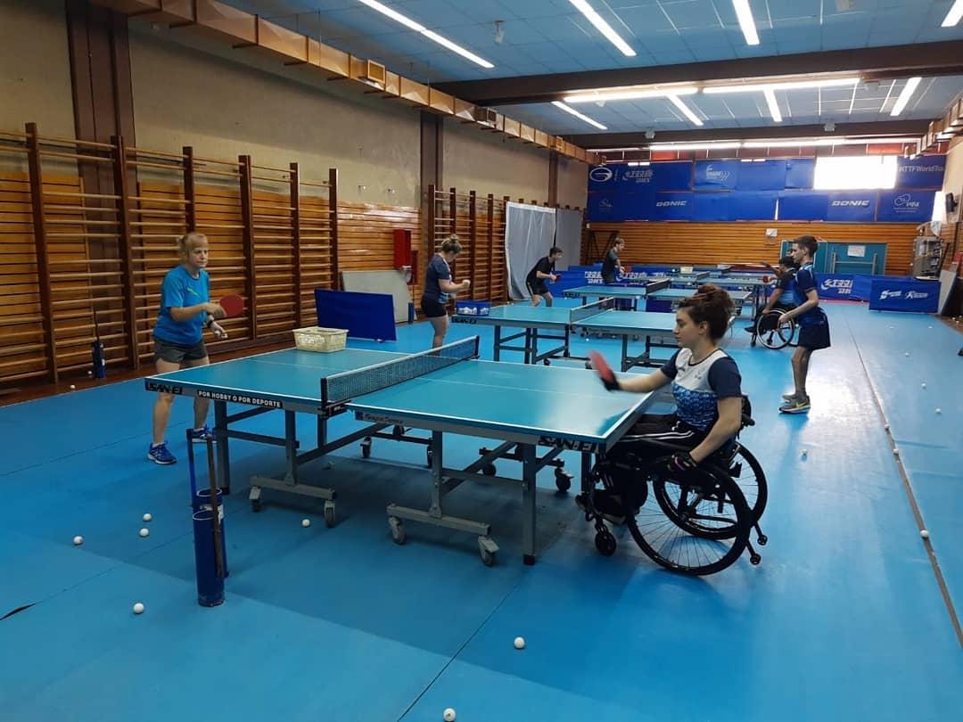 Tenis de mesa adaptado: la Selección se prepara para el Preolímpico