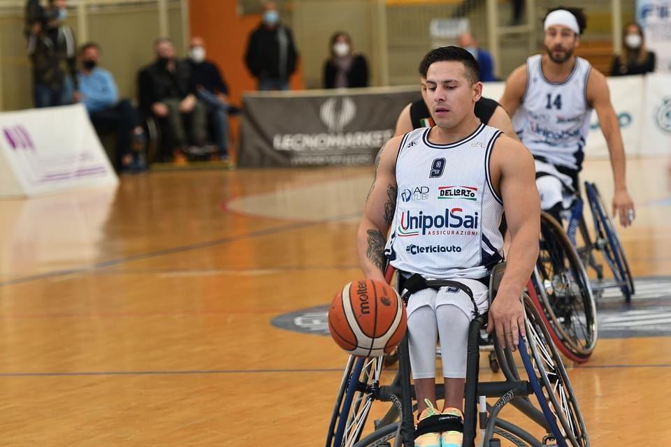 Básquet sobre silla de ruedas: el Briantea84 de los argentinos Berdún y Esteche empató la serie y estiró la definición en Italia