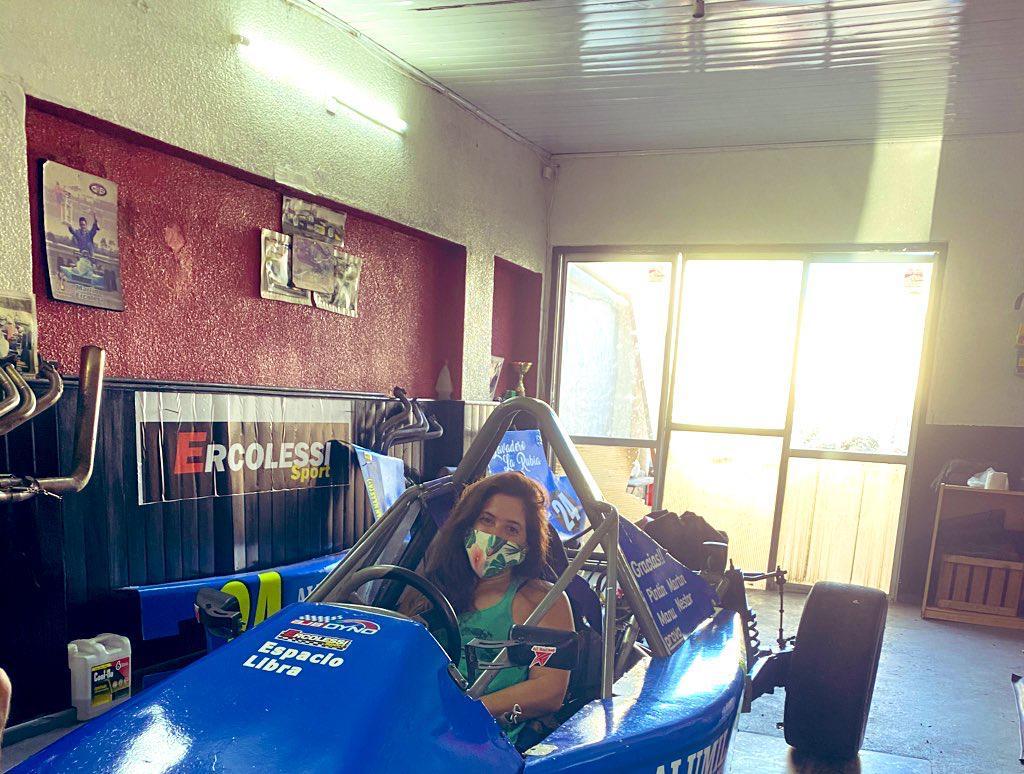 Belén Ameijenda quiere ser la primera piloto latinoamericana