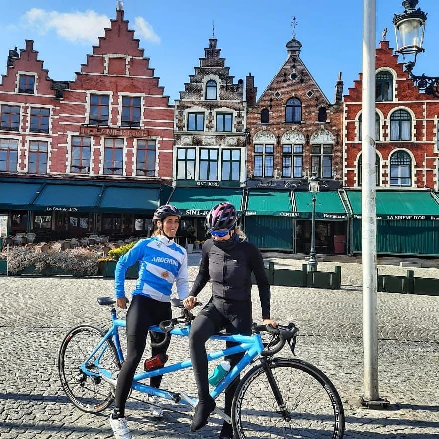 Paraciclismo: la Selección ya está en Bélgica con un cambio de último momento