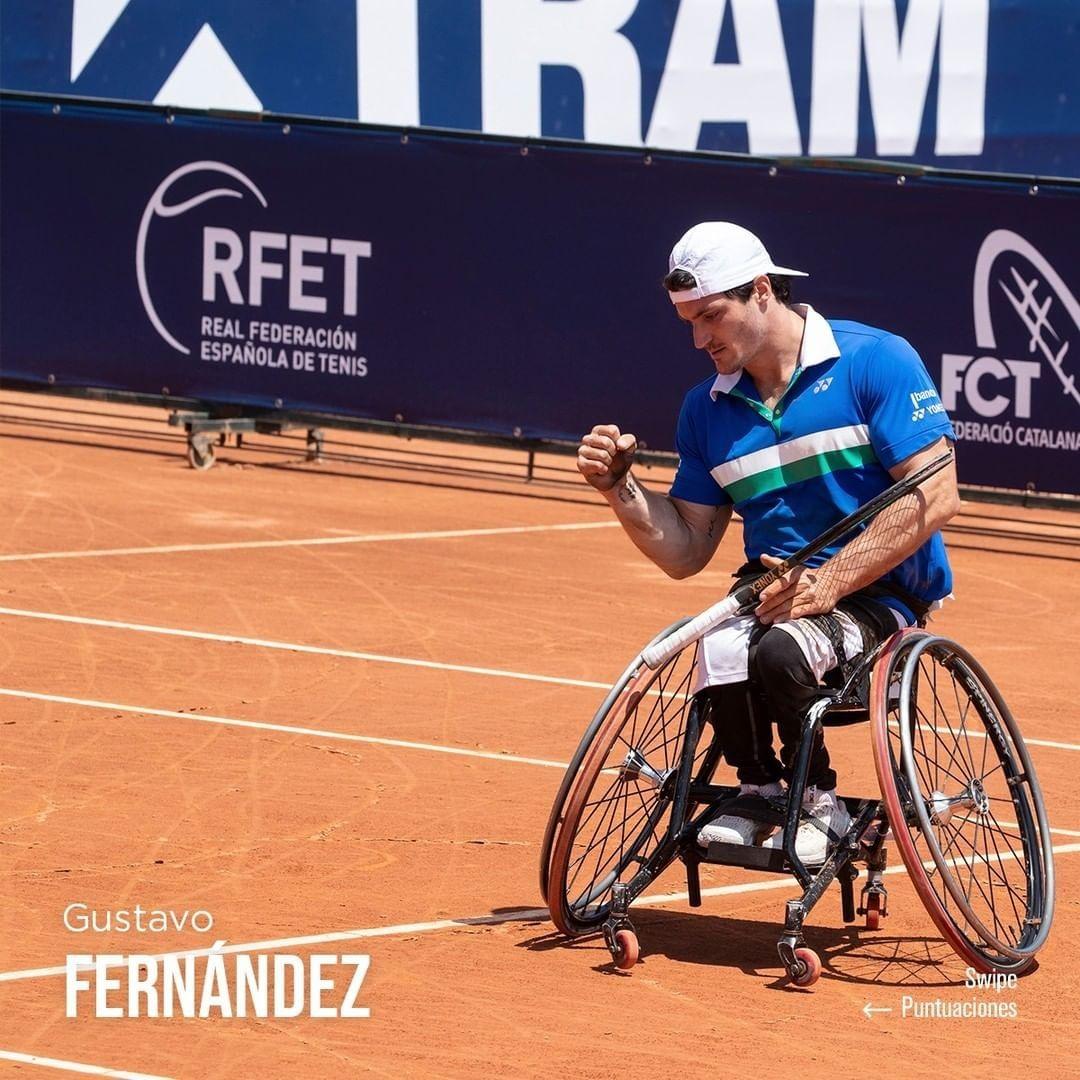 Tenis adaptado: Gustavo Fernández, campeón en Barcelona