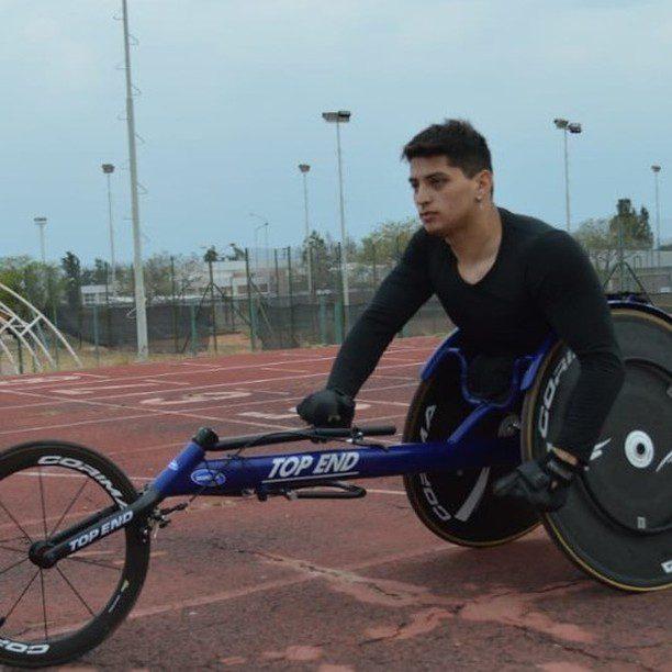 Atletismo paralímpico: segundo día de competencia en el Open de Arbon y top 11 para Gabriel Sosa