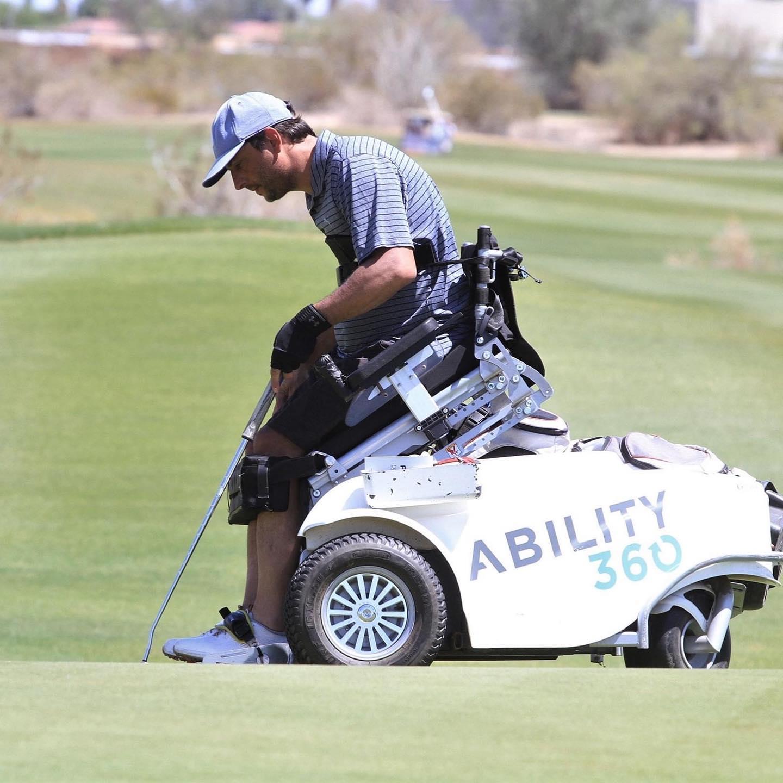 Golf adaptado: Mariano Tubio, segundo puesto en el US Open