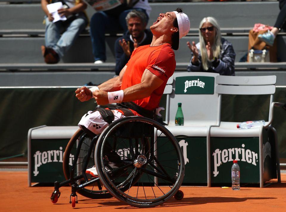 Tenis adaptado: Gustavo Fernández, finalista en Barcelona