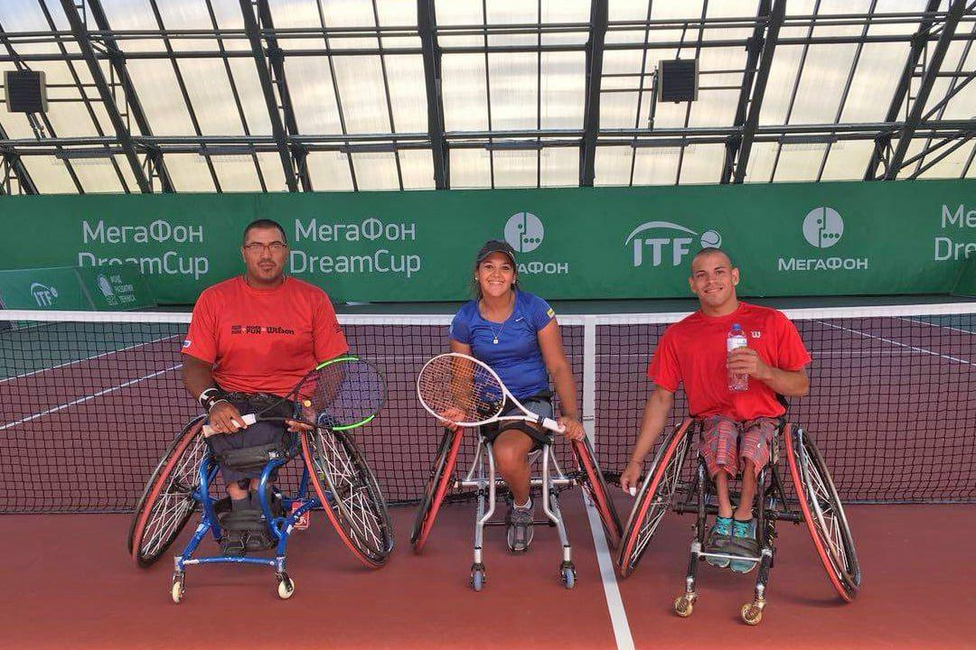 Tenis adaptado: Ledesma, Moreno y Casco arrancaron una nueva gira internacional