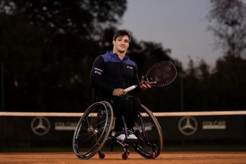 Tenis adaptado | En Barcelona, Gustavo Fernández vuelve a competir: su agenda completa hasta los Juegos Paralímpicos