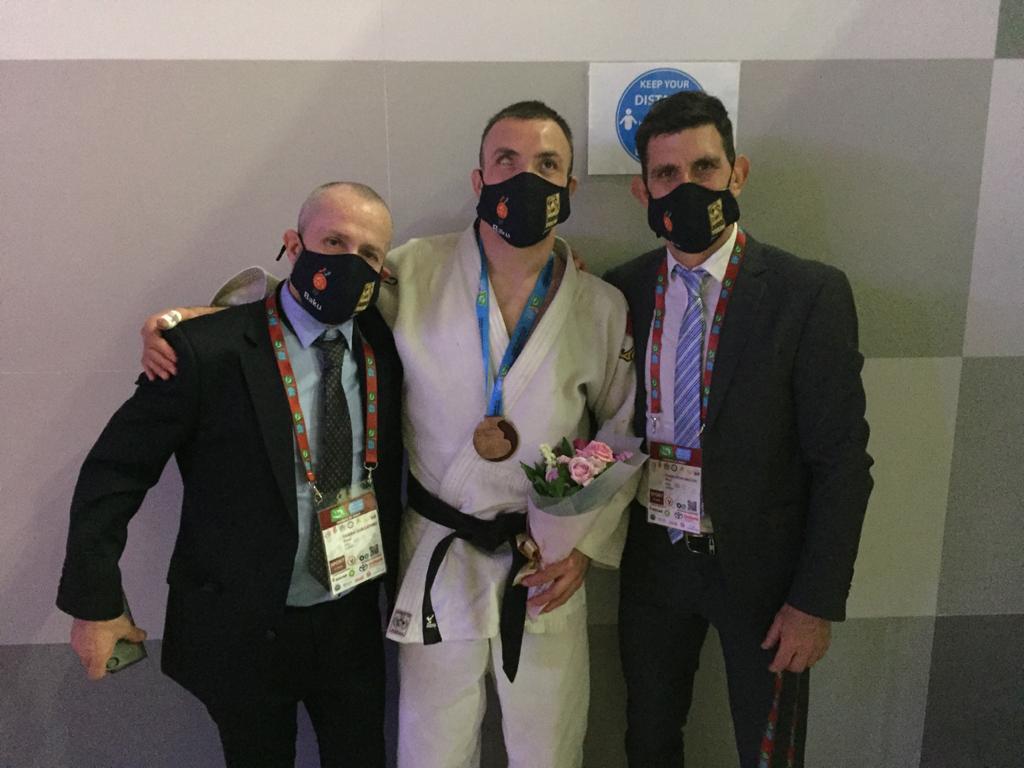 Judo paralímpico: Eduardo Gauto, medalla de bronce en el Grand Prix de Azerbiyán
