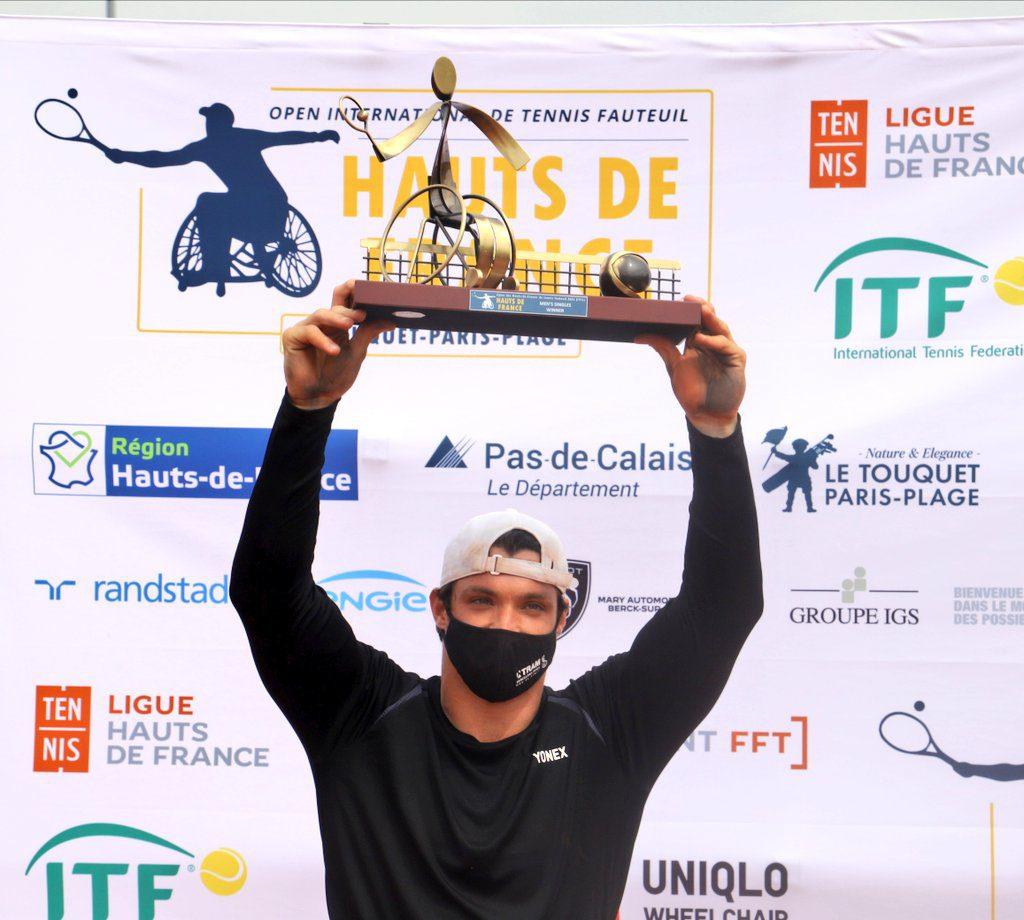Tenis adaptado: Gustavo Fernández, campeón en Francia