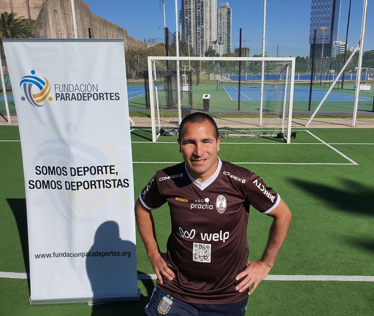 Atlas y la Fundación Paradeportes tendrán un equipo de fútbol para ciegos y Silvio Velo será su capitán