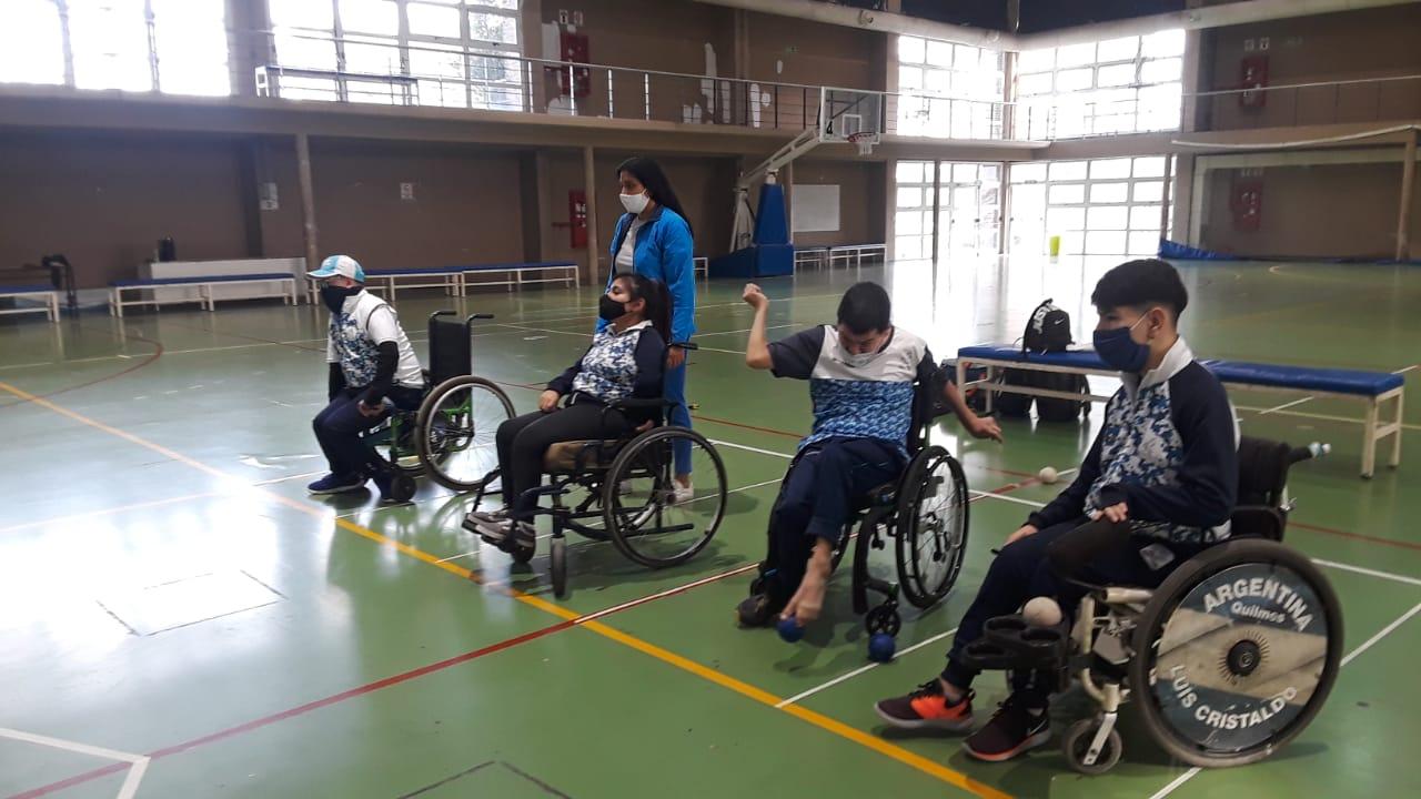 Boccia: la Selección Argentina se concentró en el CeNARD
