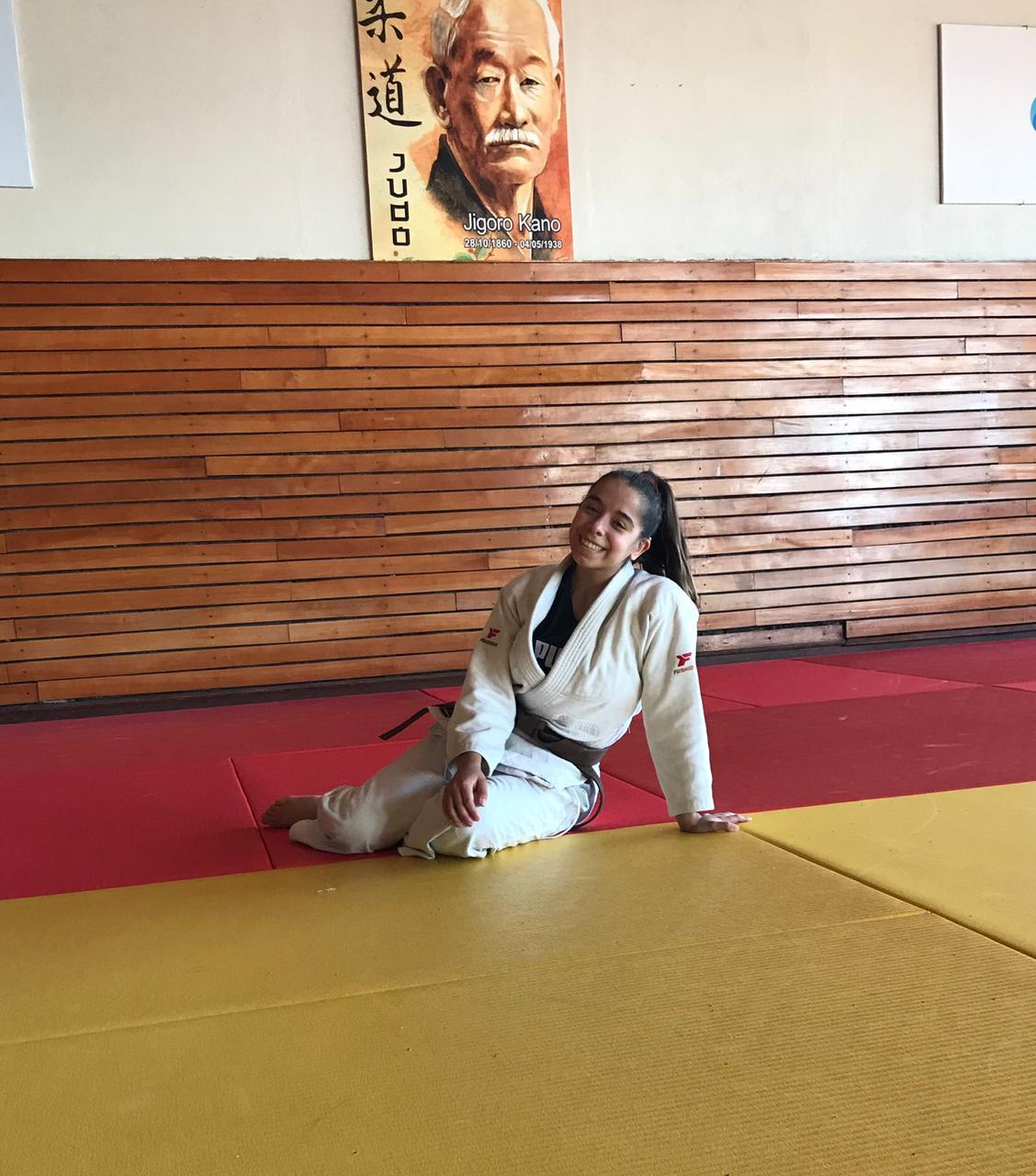 Deportes para sordos: después de mucho buscar, Valentina Bonfanti encontró la felicidad en el judo