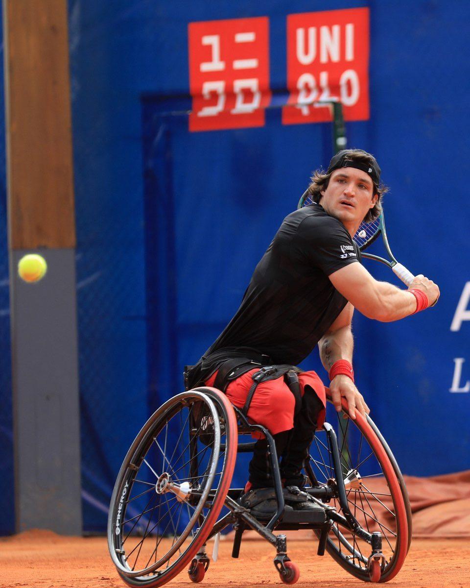 Tenis adaptado: Gustavo Fernández arrasa en Barcelona y ya está en semifinales