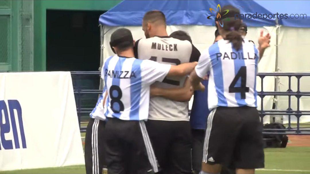 Fútbol para ciegos: Argentina debutó con un triunfo en el Grand Prix