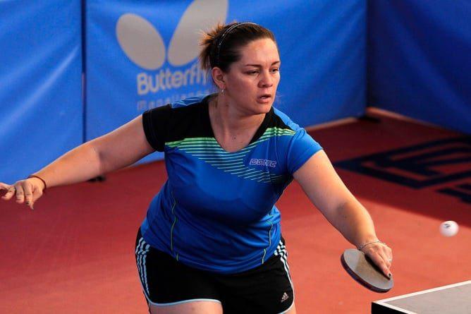 Tenis de mesa adaptado: Giselle Muñoz no pudo en la semifinal del Preolímpico