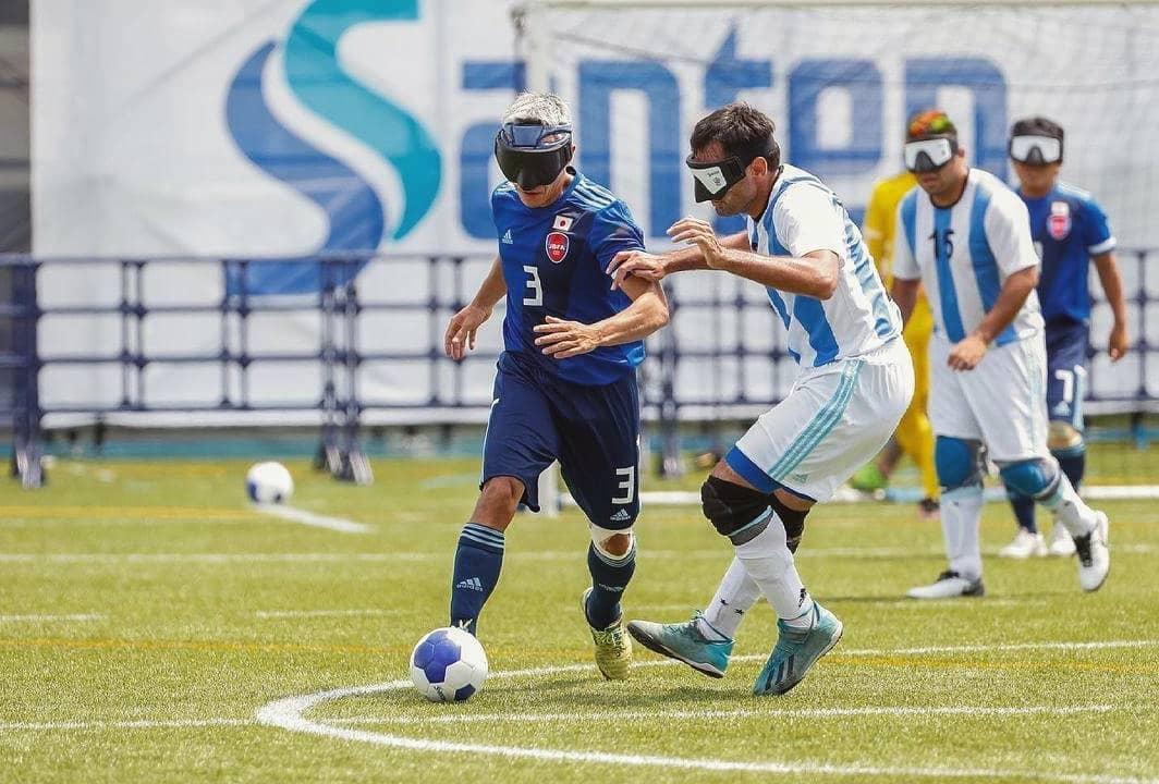 Fútbol para ciegos: Los Murciélagos empataron con Japón y quedaron a un paso de la final