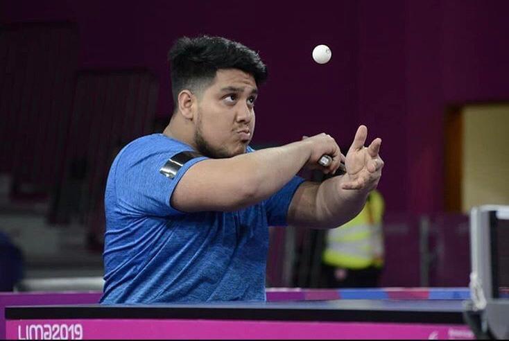 Tenis de mesa adaptado: Elías Romero ganó pero no pudo entrar en la semifinal del Preolímpico, donde sí estará Giselle Muñoz
