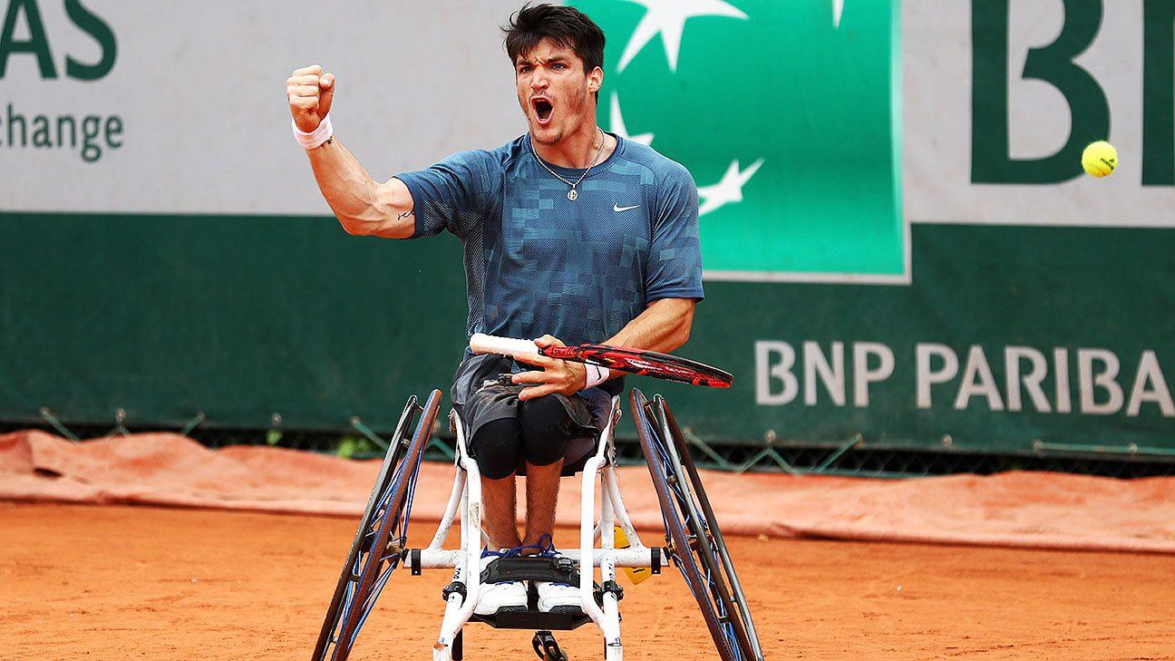Tenis adaptado: Gustavo Fernández, semifinalista de Roland Garros
