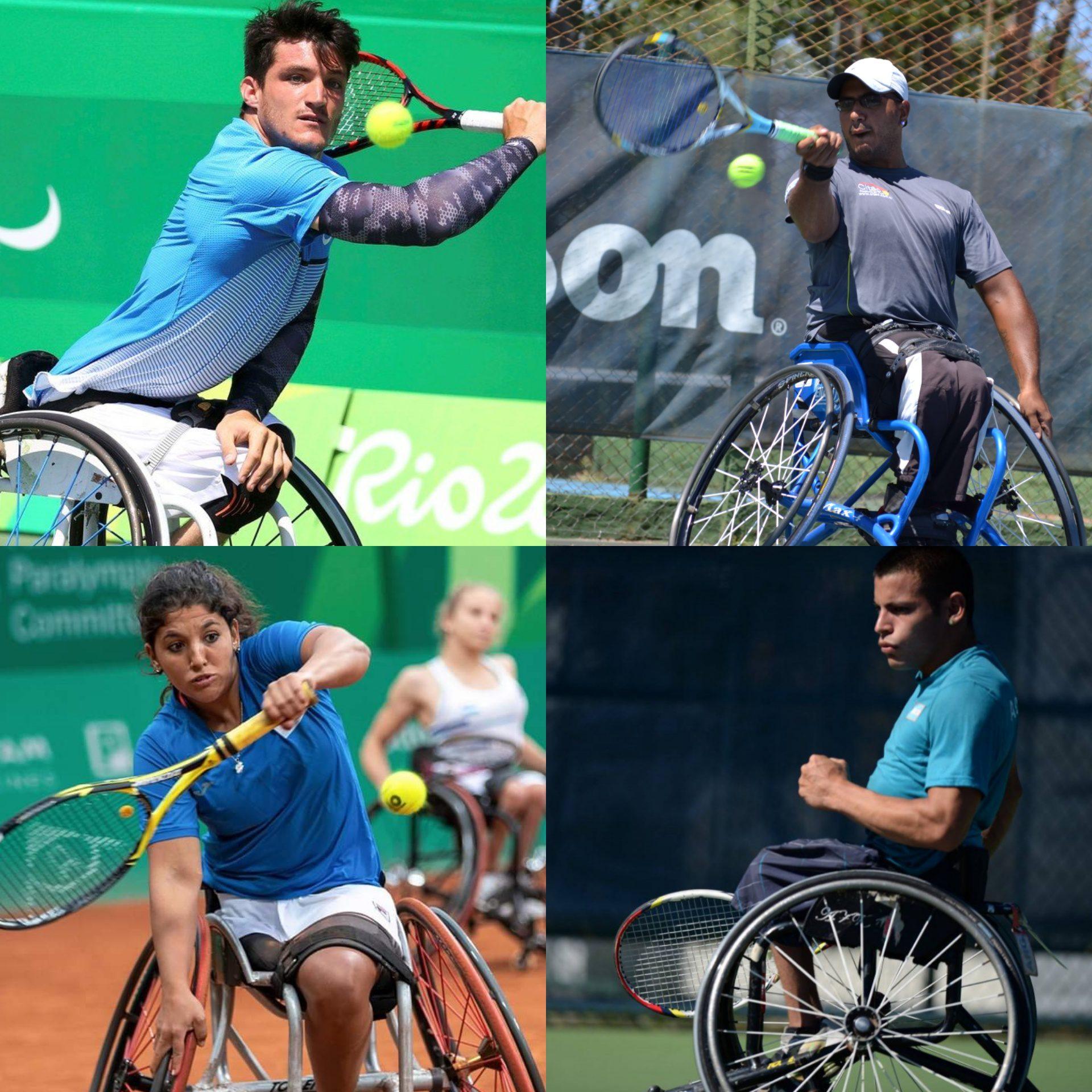 Tenis adaptado: habrá cuatro argentinos en los Juegos Paralímpicos de Tokio