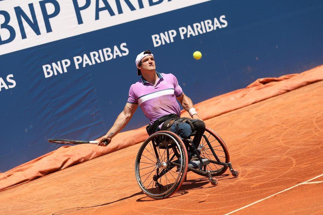 Tenis adaptado: Gustavo Fernández, subcampeón en Francia