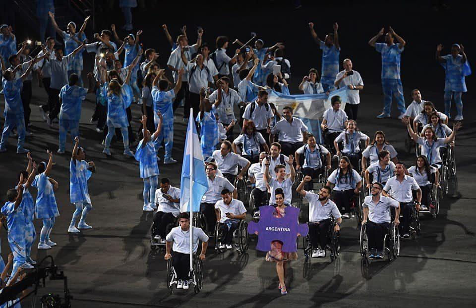 Así está la delegación argentina para los Juegos Paralímpicos de Tokio