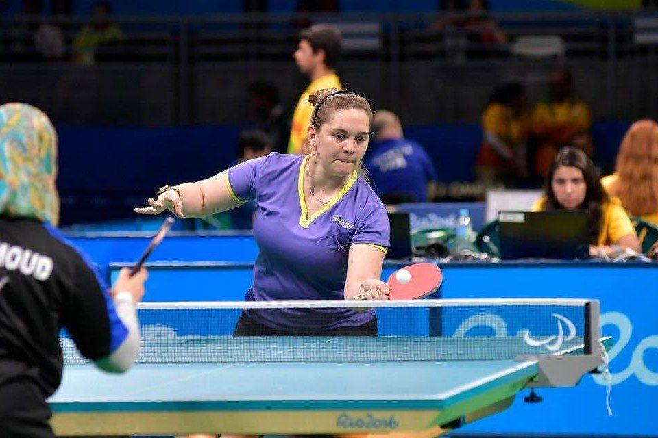 Tenis de mesa: buen arranque para Giselle Muñoz en el Preolímpico de Eslovenia