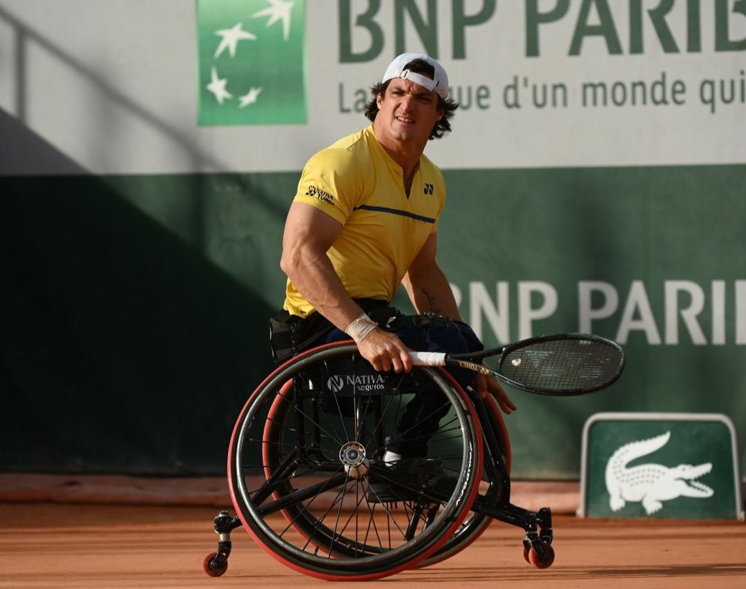 Tenis adaptado: Gustavo Fernández, listo para Roland Garros