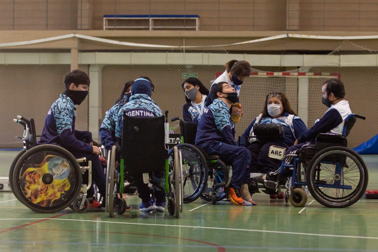 Boccia: el seleccionado argentino se entrenó en el CeNARD y ajusta detalles de cara a Tokio