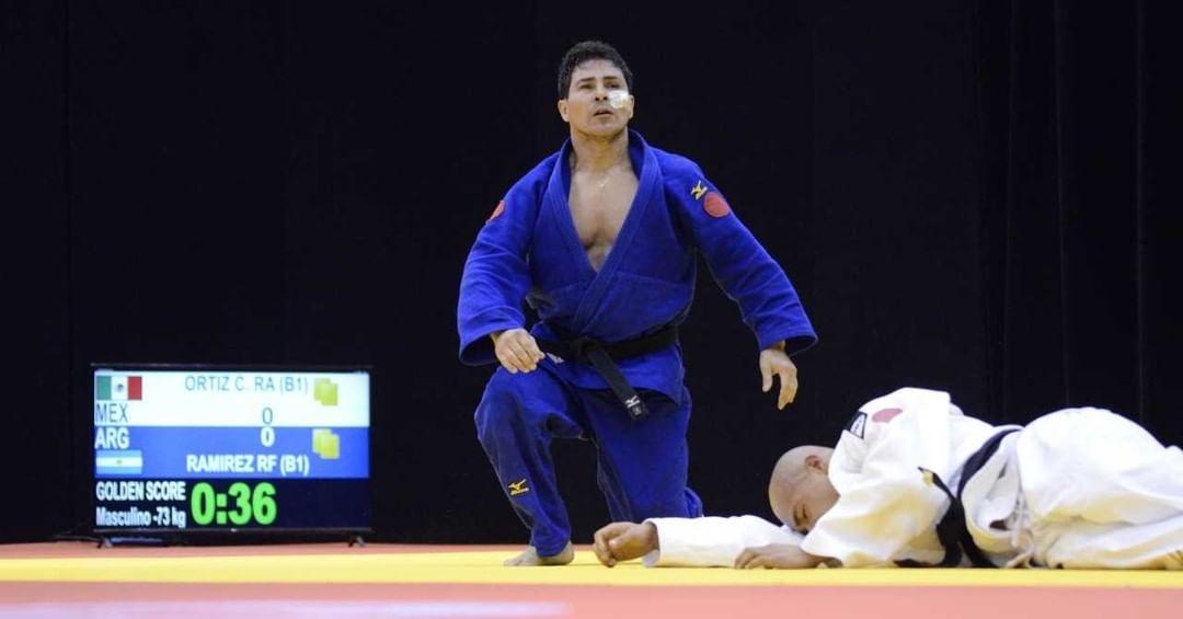 Judo paralímpico: Fabián Ramírez, clasificado a Tokio