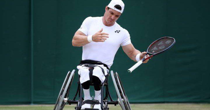 Tenis adaptado: Gustavo Fernández, semifinalista de Wimbledon