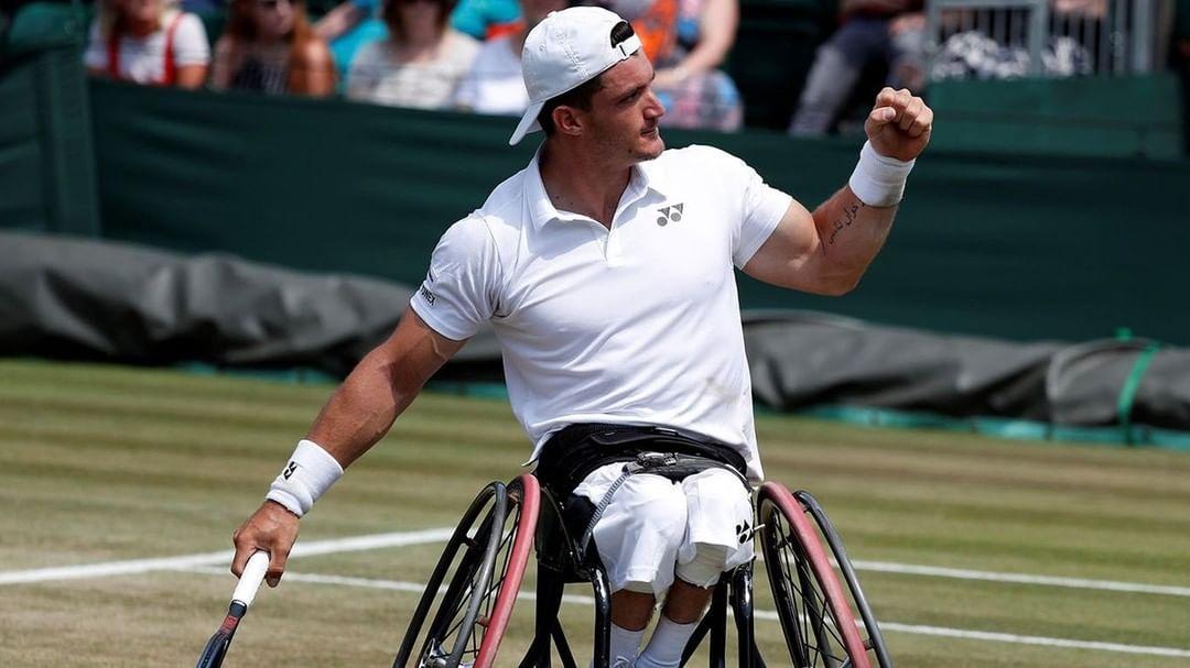 Tenis adaptado: Gustavo Fernández arranca su participación en Wimbledon