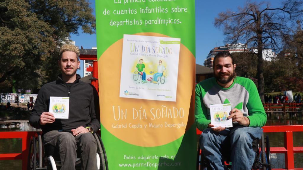 """Se presentó """"Somos deportistas"""", la 1ra. colección de libros infantiles sobre la historia de grandes deportistas paralímpicos argentinos"""