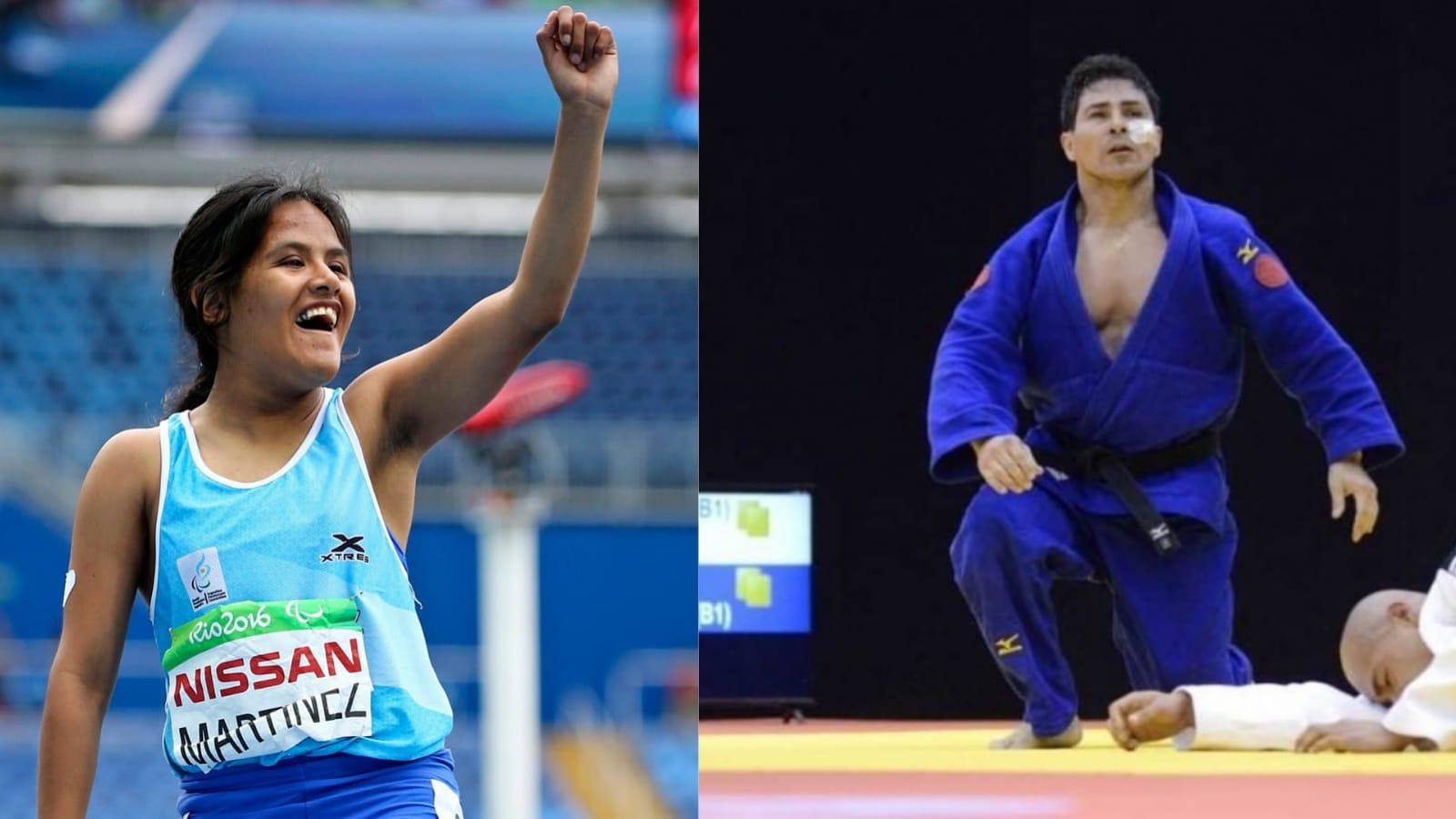 Yanina Martínez y Fabián Ramírez serán los abanderados argentinos en los Juegos Paralímpicos de Tokio