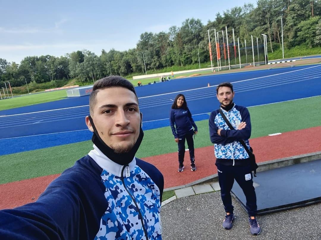 Atletismo Paralímpico: Yanina Martínez y Brian Impellizzeri se entrenan en Ámsterdam antes de viajar a Tokio
