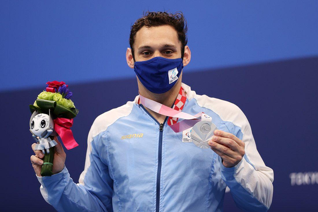 """Pipo Carlomagno en Paradeportes Tokio: """"Voy a ir a París 2024 a buscar la medalla dorada"""""""