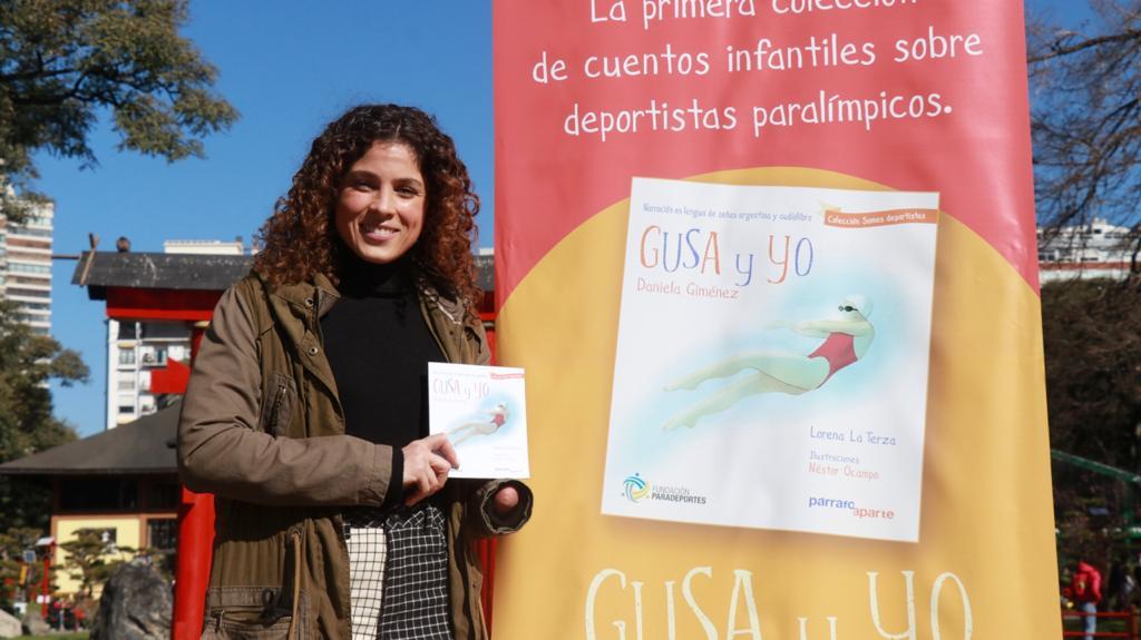 """""""Gusa y yo"""", el primer libro infantil sobre la historia de la nadadora paralímpica Daniela Giménez"""