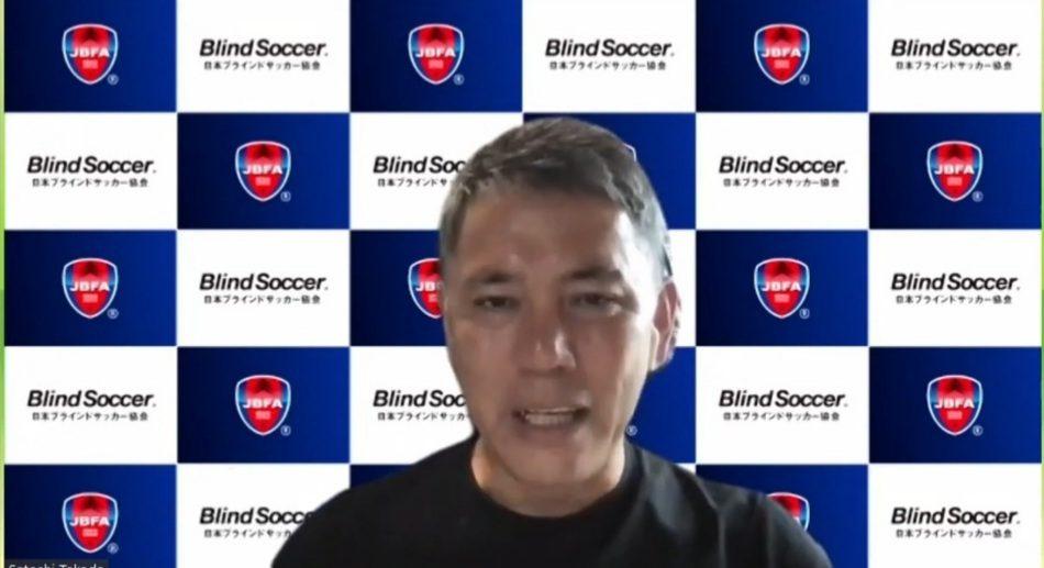 """Satoshi Takada, entrenador de la selección japonesa de fútbol para ciegos: """"Maxi Espinillo es el mejor delantero del mundo"""""""