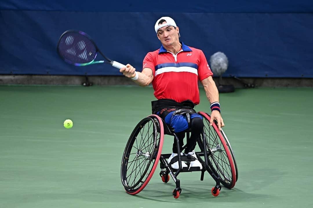 Tenis adaptado: ¡Gustavo Fernández, semifinalista del US Open!
