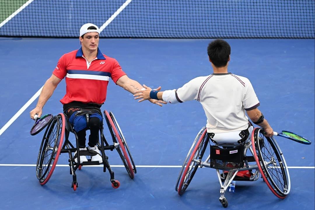 Tenis adaptado: Gustavo Fernández, subcampeón del dobles en el US Open