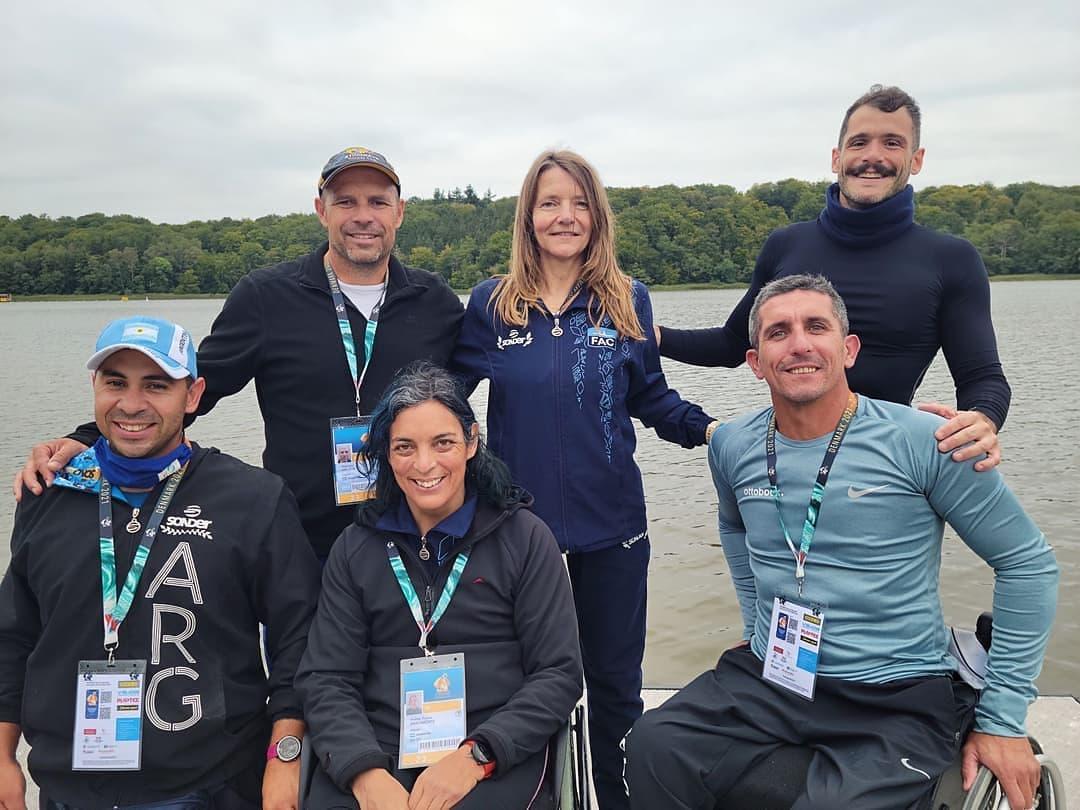 Paracanotaje: el equipo argentino ya está en Dinamarca para competir en el Mundial