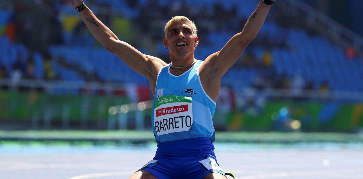 Se cumplen cinco años de la medalla de bronce de Hernán Barreto en los 100 metros de Río 2016