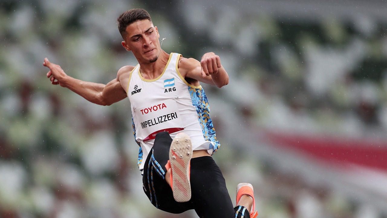 Juegos Paralímpicos: ¡Brian Impellizzeri, medalla plateada en salto en largo!