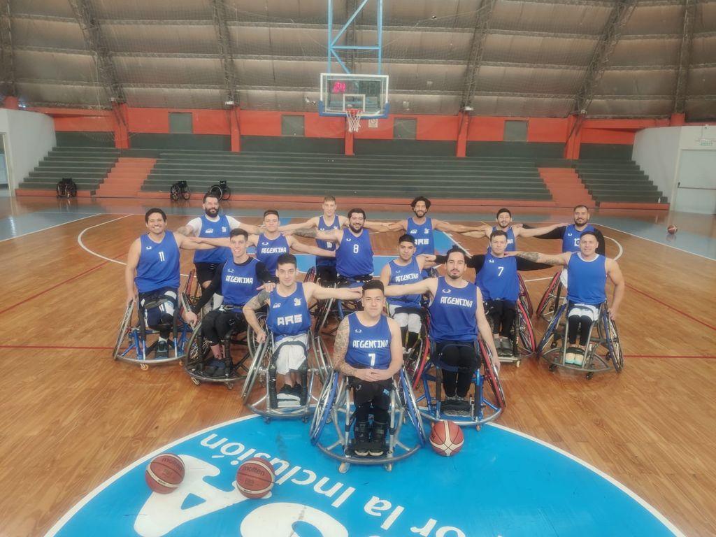 Básquet sobre silla de ruedas: el seleccionado masculino se concentró en Santa Fe