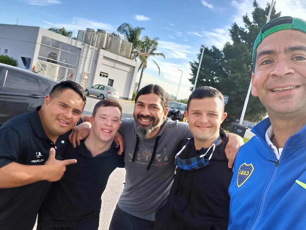 Córdoba disfrutó del footgolf para atletas con Síndrome de Down
