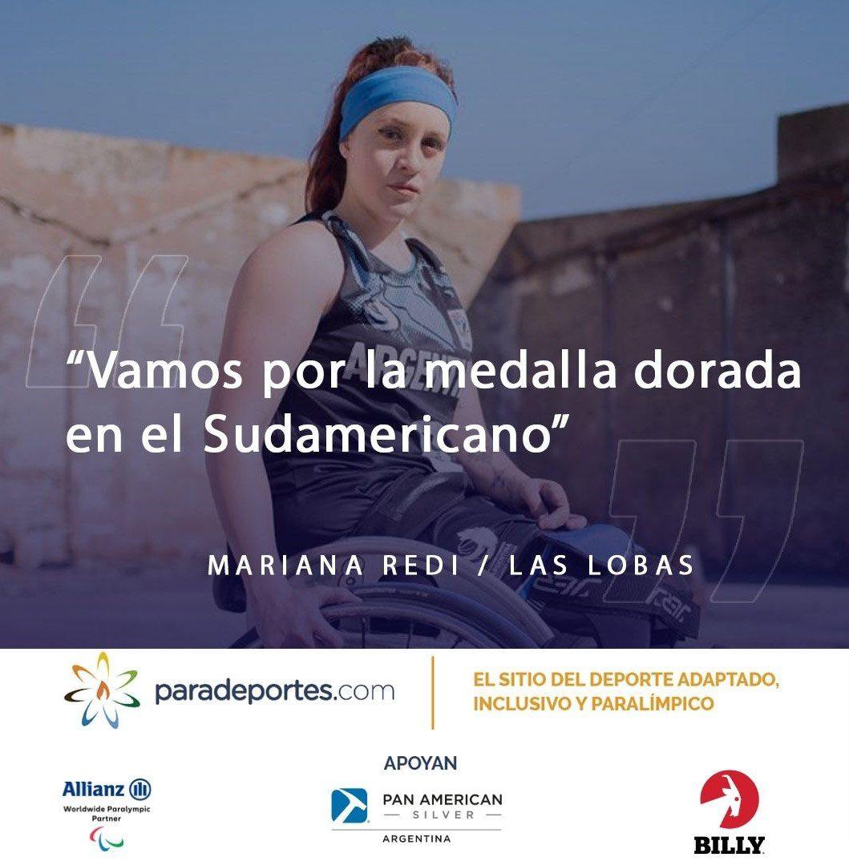 """Mariana Redi en Paradeportes Radio: """"Vamos por la medalla dorada en el Sudamericano"""""""