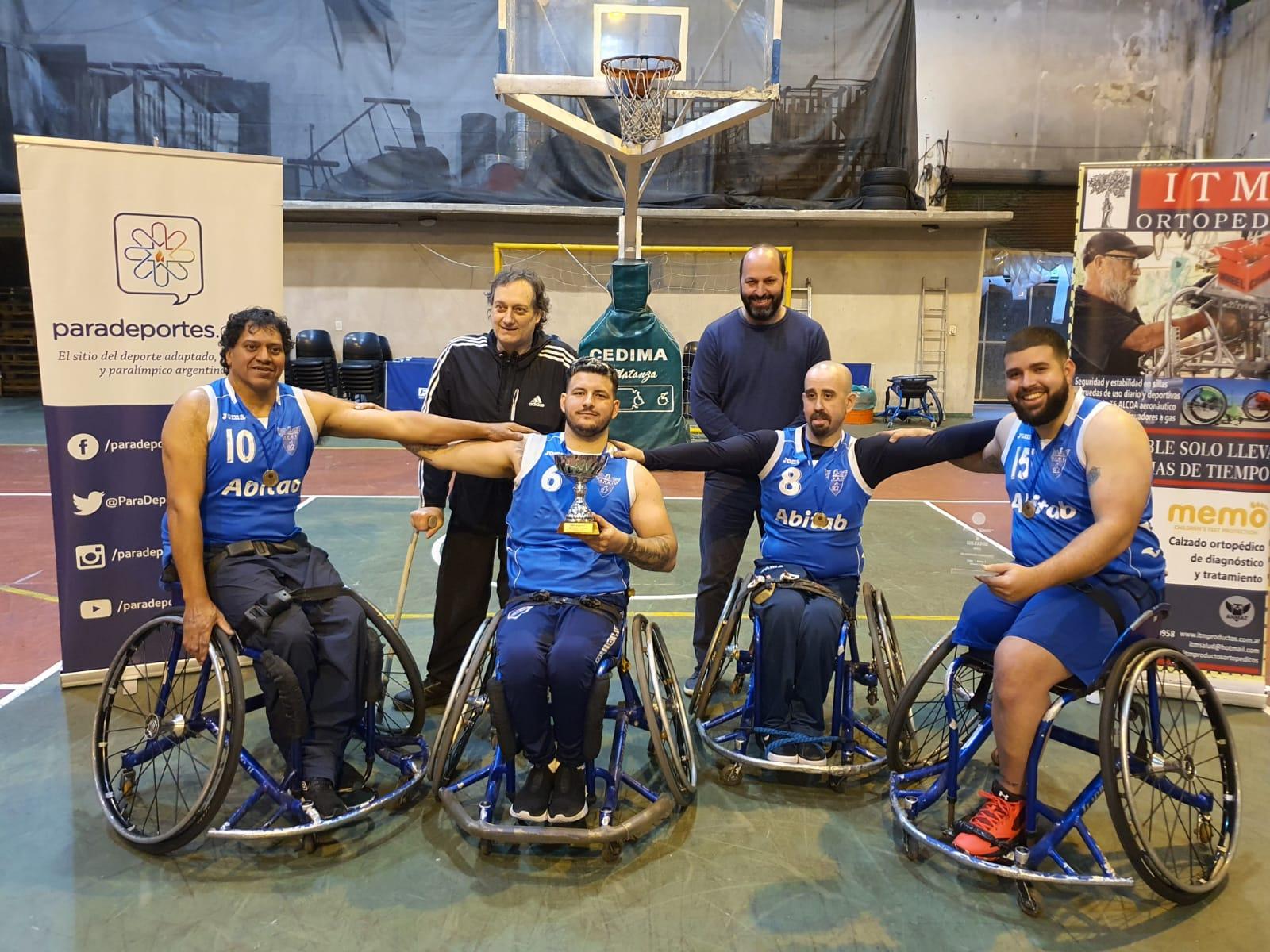 """Todos los ganadores de la Liga Nacional """"Fundación Paradeportes"""" de básquet adaptado 3×3"""