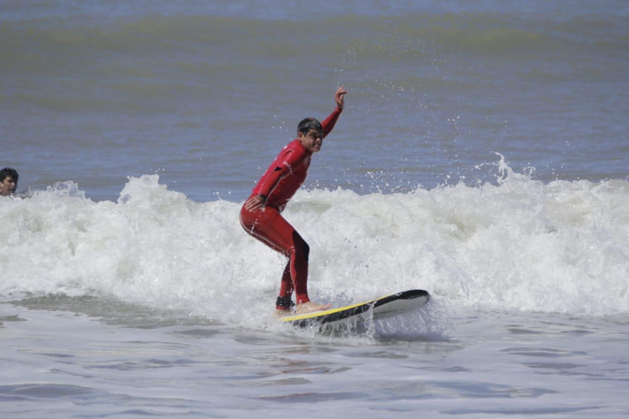 Surf adaptado: se disputó la 2da. fecha del Campeonato Nacional en Mar del Plata