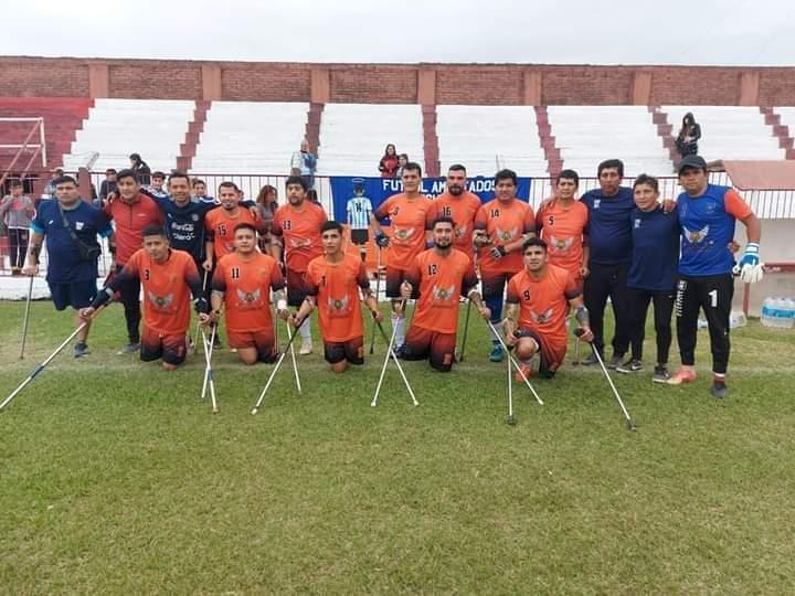 Fútbol de amputados: Cultural de Corrientes dio el golpe en Mar del Plata